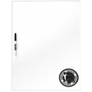 Boston Terrier Dry-Erase Boards