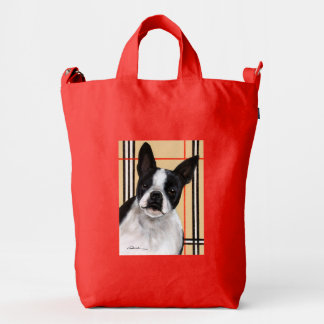 Boston Terrier Duck Bag