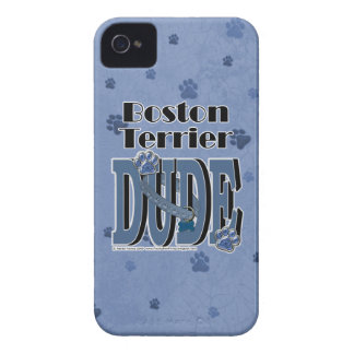 Boston Terrier DUDE iPhone 4 Cases