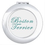 Boston Terrier Espejo De Viaje