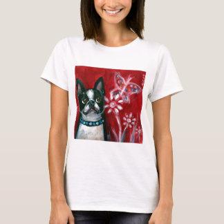 Boston Terrier eyes butterfly T-Shirt