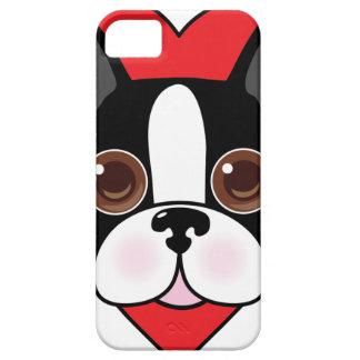Boston Terrier Face iPhone SE/5/5s Case