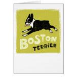Boston Terrier Felicitación
