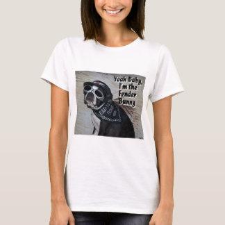 Boston Terrier:  Fender Bunny T-Shirt