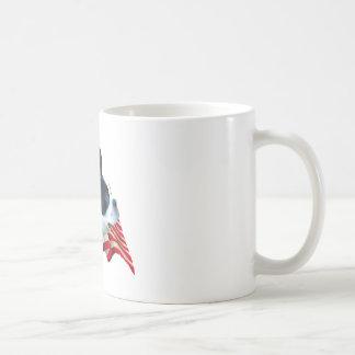 Boston Terrier Flag Coffee Mug