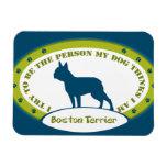 Boston Terrier Flexible Magnets
