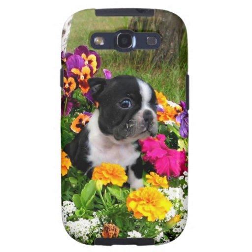 Boston Terrier Galaxy SIII Carcasa