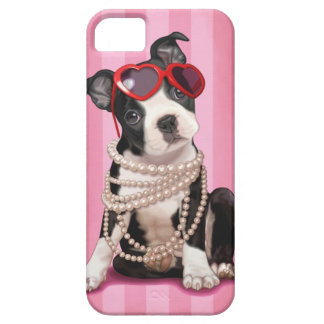 Boston Terrier iPhone 5 Case-Mate Cobertura