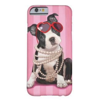 Boston Terrier Funda De iPhone 6 Barely There