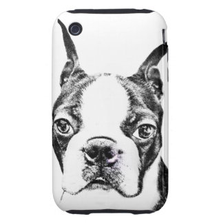 Boston Terrier iPhone 3 Tough Fundas