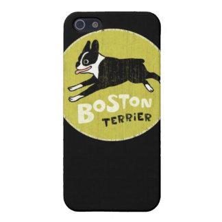 Boston Terrier iPhone 5 Coberturas