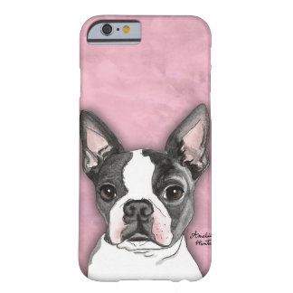 Boston Terrier Funda Para iPhone 6 Barely There