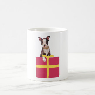 Boston Terrier Gift Box Coffee Mug