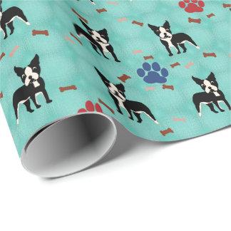 Boston Terrier Gift Wrap