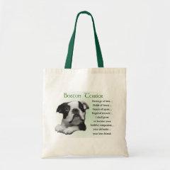 Boston Terrier Gifts bag