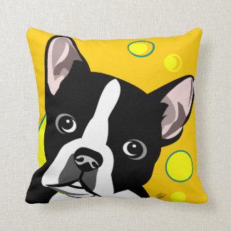 Boston Terrier Gifts Throw Pillow