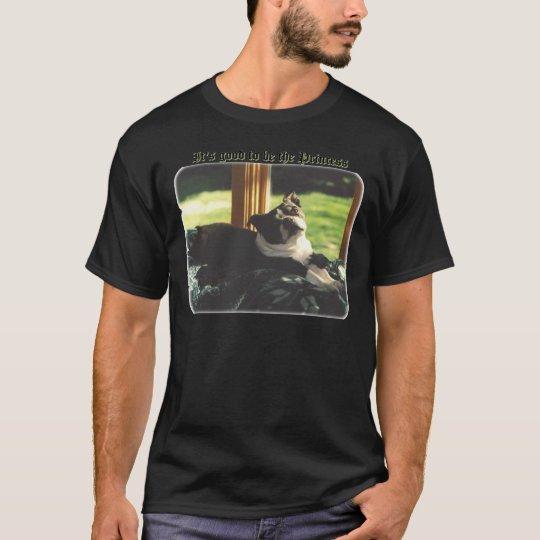 Boston Terrier:  Good to be Princess T-Shirt