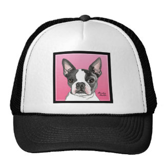 Boston Terrier Gorro De Camionero