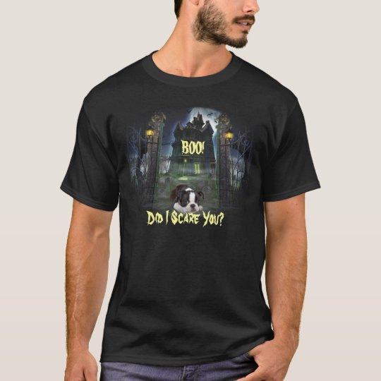 Boston Terrier Halloween Unisex T-Shirt