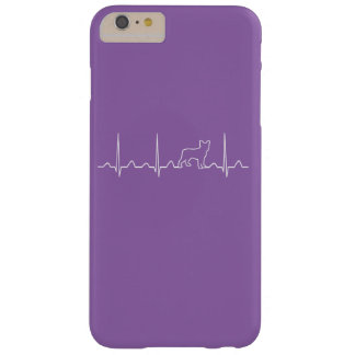 Boston Terrier Heartbeat Barely There iPhone 6 Plus Case