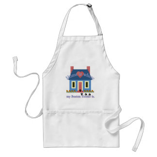 Boston Terrier Home Is Adult Apron