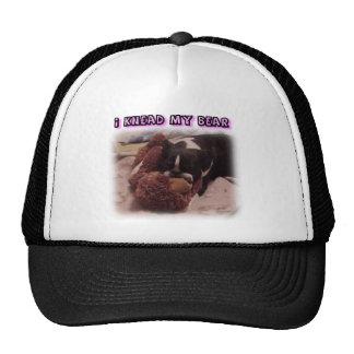 Boston Terrier:  I Knead My Bear Trucker Hat