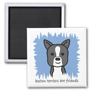 Boston Terrier Iman Para Frigorífico