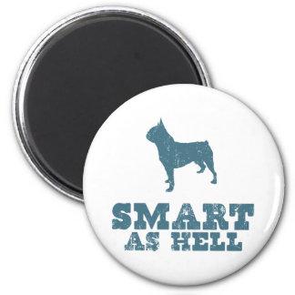 Boston Terrier Imán Para Frigorífico