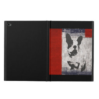 Boston Terrier in Black and White Powis iPad Air 2 Case