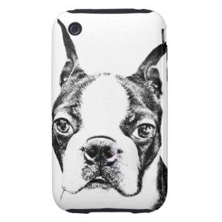 Boston Terrier iPhone 3 Tough Protector