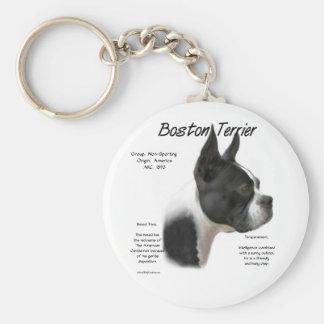 Boston Terrier Keychain