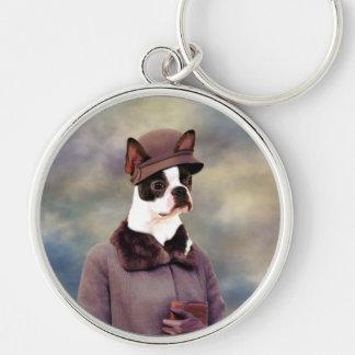 Boston Terrier Keychain Nobility Dogs Gift