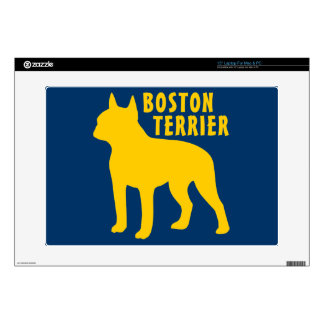 Boston Terrier Laptop Skins