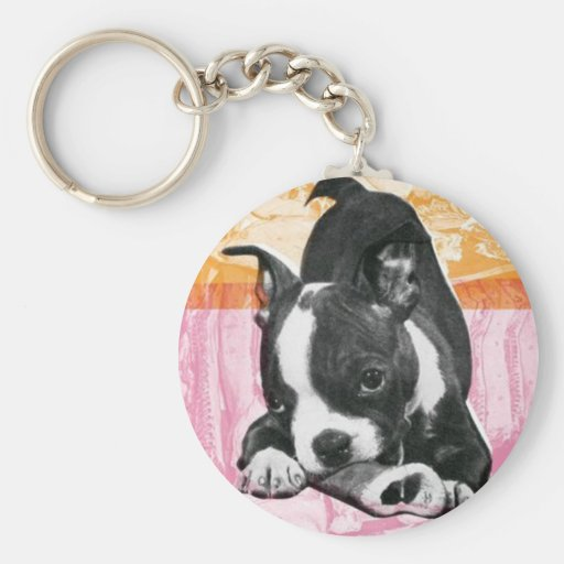 Boston Terrier - llavero