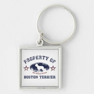 Boston Terrier Llaveros Personalizados