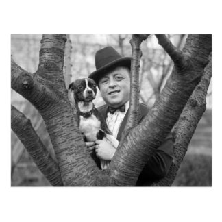 Boston Terrier, los años 20 Postal