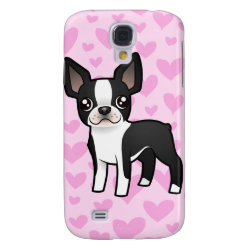 Case-Mate Barely There Samsung Galaxy S4 Case with Boston Terrier Phone Cases design