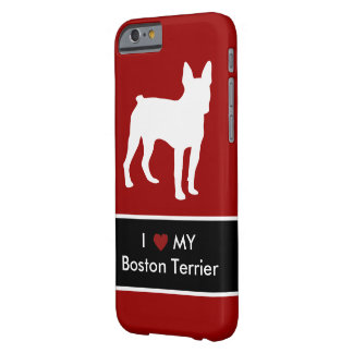 Boston Terrier Love Barely There iPhone 6 Case