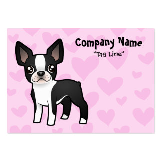 Boston Terrier Love Business Cards