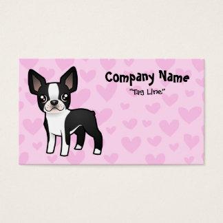 Boston Terrier Love Business Card