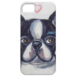Case-Mate Vibe iPhone 5 Case with Boston Terrier Phone Cases design