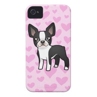 Boston Terrier Love iPhone 4 Case