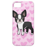 Boston Terrier Love iPhone 5 Case
