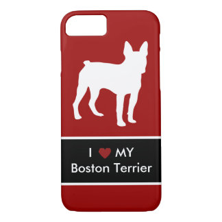 Boston Terrier Love iPhone 8/7 Case