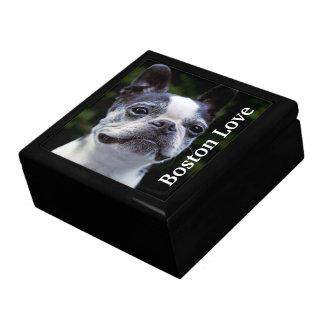 Boston Terrier Love Keepsake Box