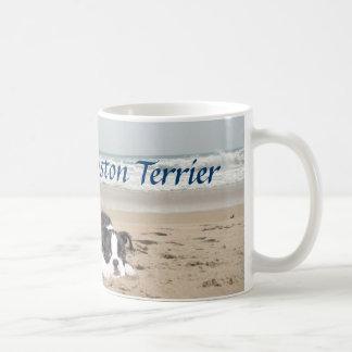 Boston Terrier Love Mug Sandcastles