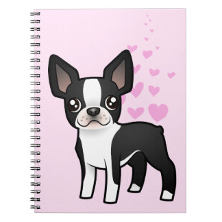 Boston Terrier Love Notebook