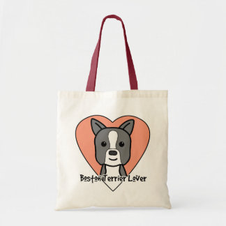 Boston Terrier Lover Tote Bags