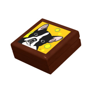 """""""Boston Terrier Lover Gifts Jewelry Box"""
