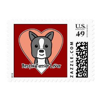 Boston Terrier Lover Postage